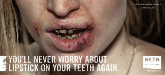Montana Meth Project Advertisement Against Meth